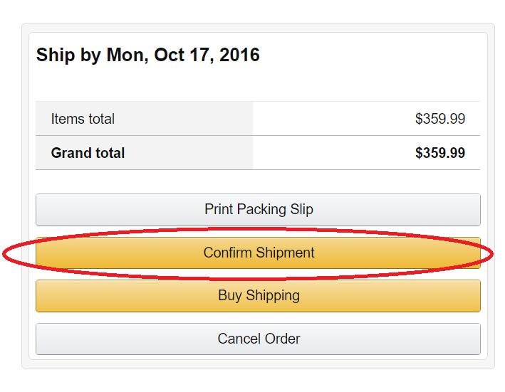 Amazon輸出 売れた後の流れ