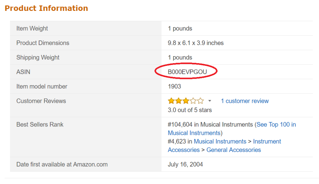 Amazon輸出ASIN