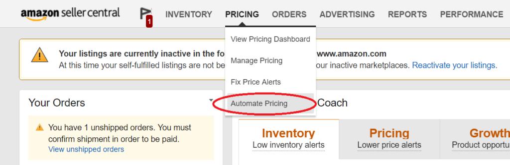 Amazon価格改定