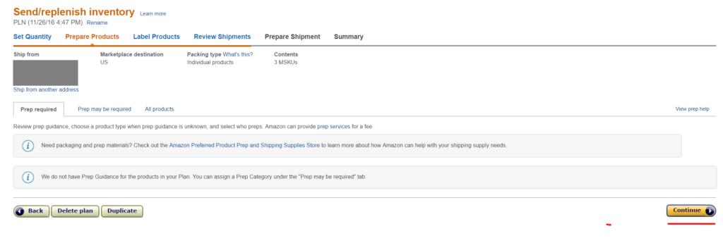 Amazon輸出FBA