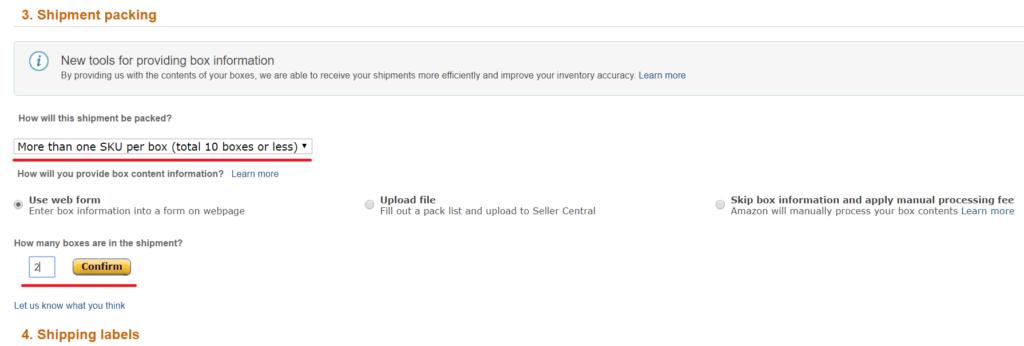 Amazon輸出 出品手順
