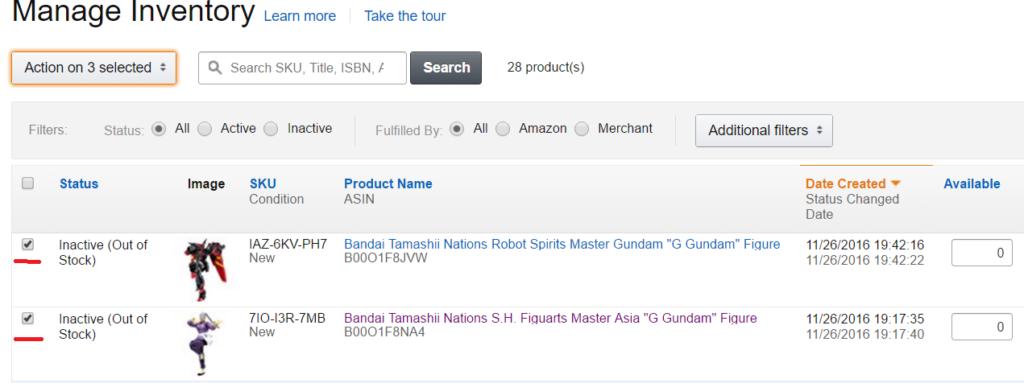 Amazon輸出 FBA手順