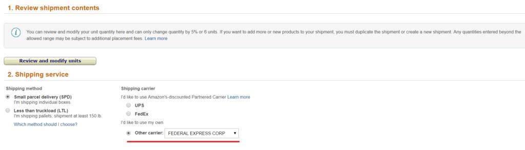 Amazon輸出 FBA